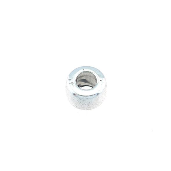 Pewter Roundel Bead 4x6mm (80Pcs)