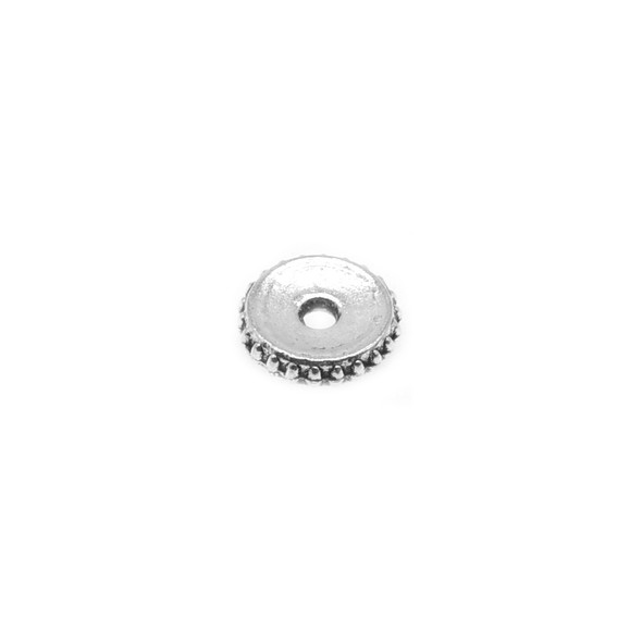 Pewter Thin Spacer 8.9mm x 8.9mm x 1.9mm (88 Pcs)