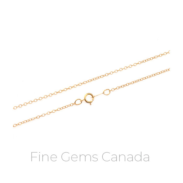 "14K Gold Filled - Cable Chain 16"" - 1/Pack"