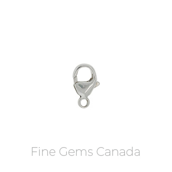 Oval Trigger Clasp (4.8x9.0mm)  - 10/pack - 925 Sterling Silver