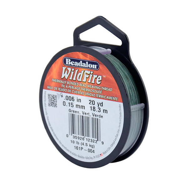 Wildfire, .006 in (.15 mm), Green, 20 yd (18 m)