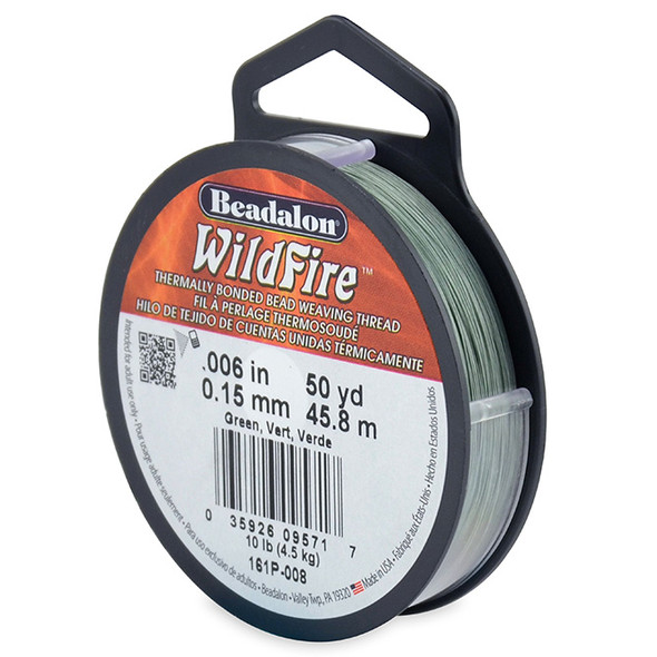 Wildfire, .006 in (.15 mm), Green 50 yd (45.8 m)