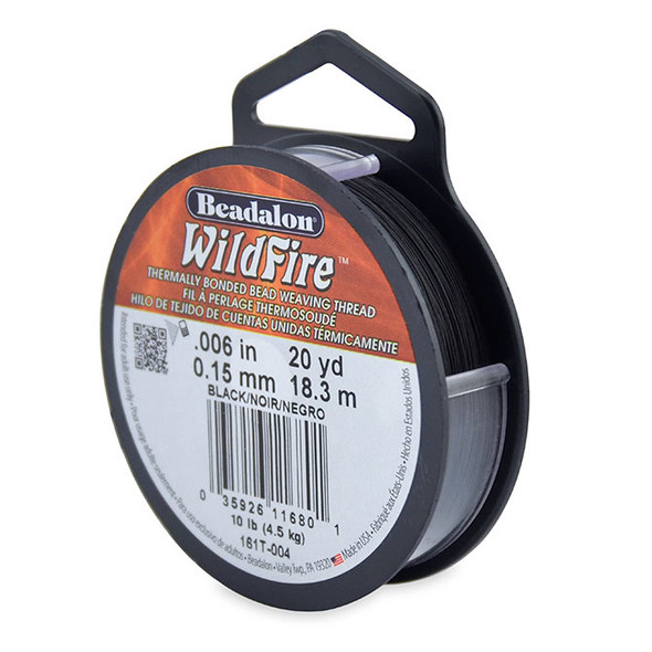 Wildfire, .006 in (.15 mm), Black, 20 yd (18 m)