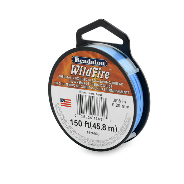 Wildfire, .008 in (.20 mm), Blue, 50 yd (45 m)