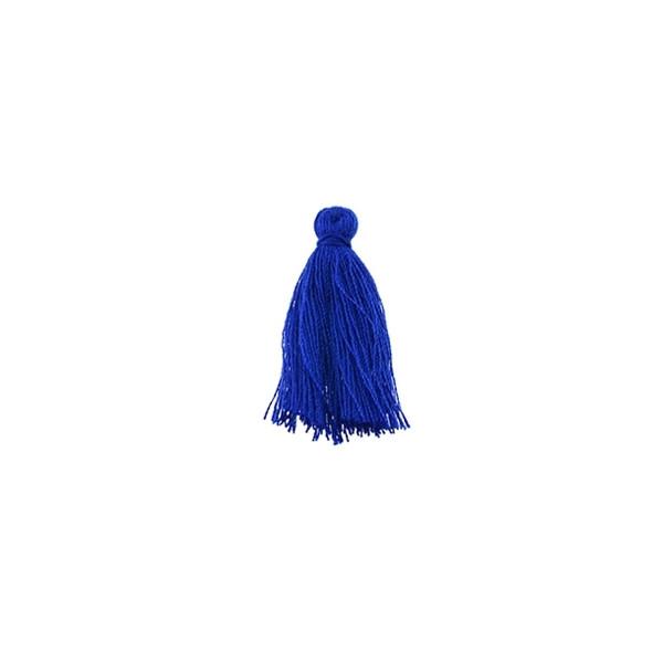 "Mini Tassel Cotton 1"" - Navy Blue (Pack of 40)"