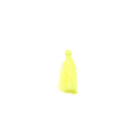 "Mini Tassel Cotton 1"" - Light Yellow (Pack of 40)"