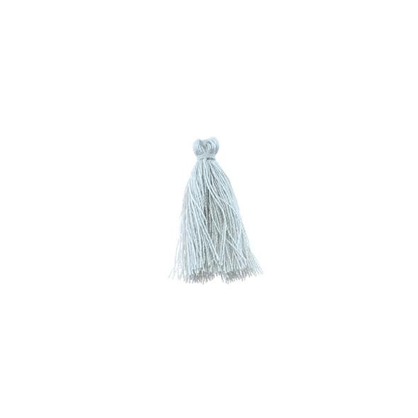 "Mini Tassel Cotton 1"" - Grey (Pack of 40)"