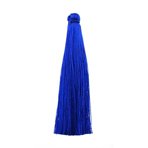 "Tassel Art Silk 2.5"" - Navy Blue (Pack of 10)"