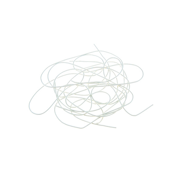 French Wire Silver Plated 0.8mm (Soft)