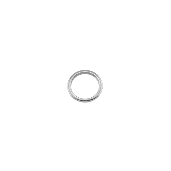 Stainless Steel Plain Solid Ring - 1x10mm - 50/Pack