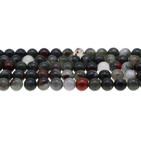 African Bloodstone Round 8mm - Loose Beads