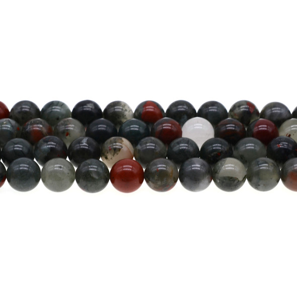 African Bloodstone Round 10mm - Loose Beads