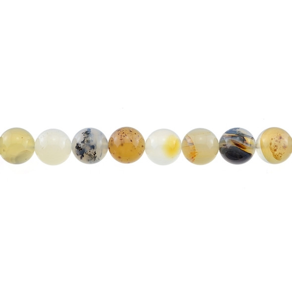 Natural African Agate Round 10mm - Loose Beads