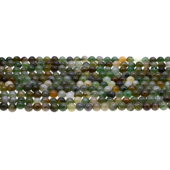 African Jade Round 4mm - Loose Beads