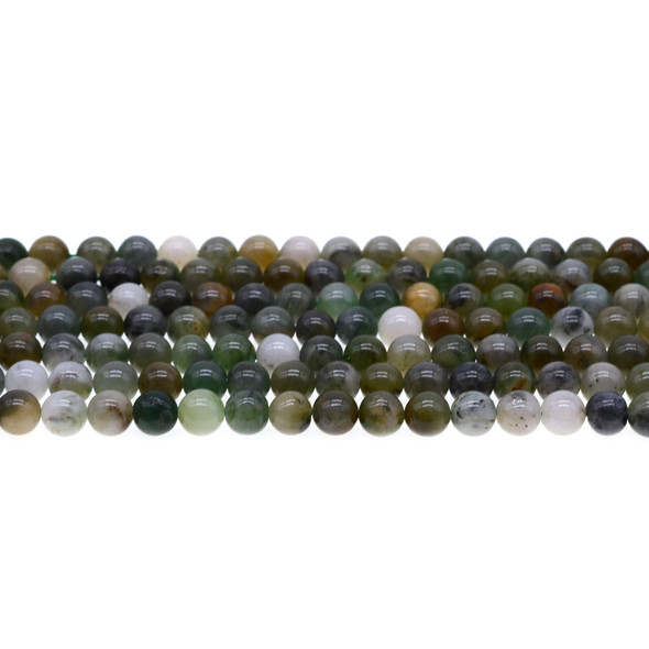 African Jade Round 6mm - Loose Beads