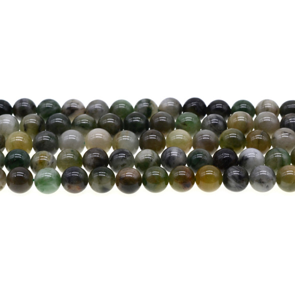 African Jade Round 8mm - Loose Beads