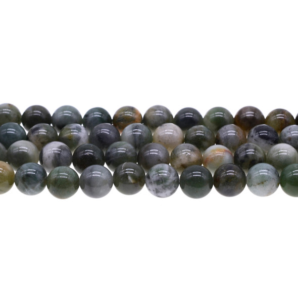African Jade Round 10mm - Loose Beads