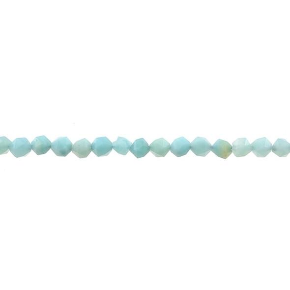 Amazonite Round Large Cut 6mm - Loose Beads