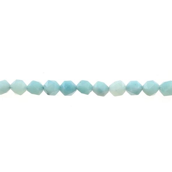 Amazonite Round Large Cut 8mm - Loose Beads