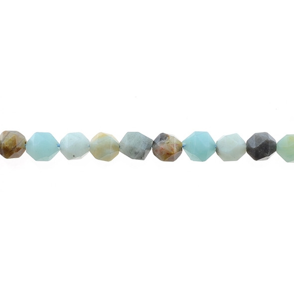 Multicolor Amazonite Round Large Cut 8mm - Loose Beads
