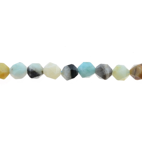 Multicolor Amazonite Round Large Cut 10mm - Loose Beads