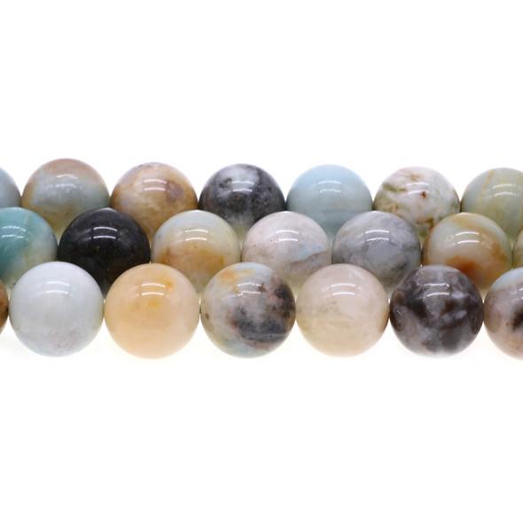 Multicolor Amazonite Round 16mm - Loose Beads