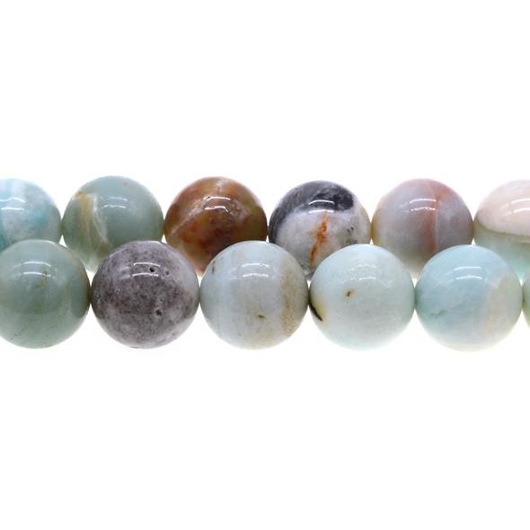 Multicolor Amazonite Round 18mm - Loose Beads