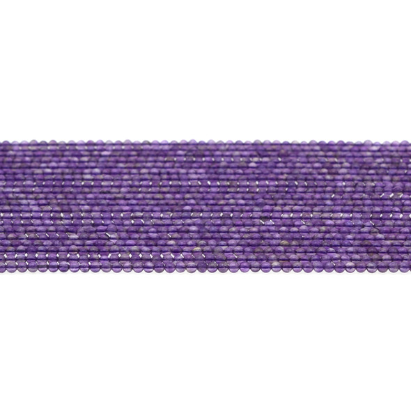 Amethyst Round 2mm - Loose Beads