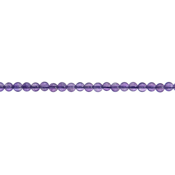 Amethyst Round 4mm - Loose Beads