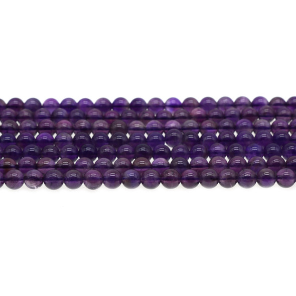 Amethyst Round 6mm - Loose Beads