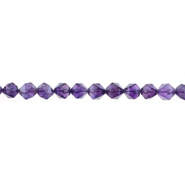 Amethyst Round Large Cut 8mm - Loose Beads