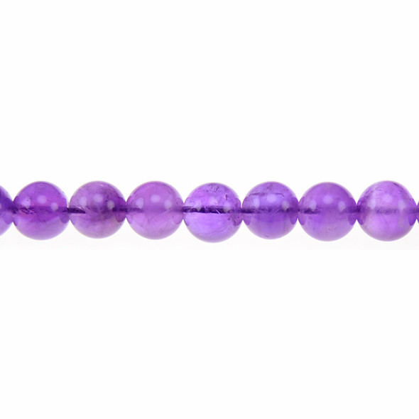 Amethyst Round 10mm - Loose Beads