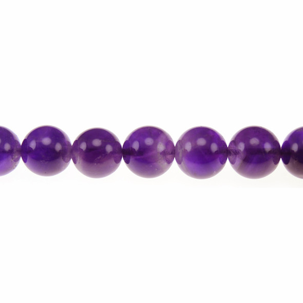Amethyst Round 12mm - Loose Beads