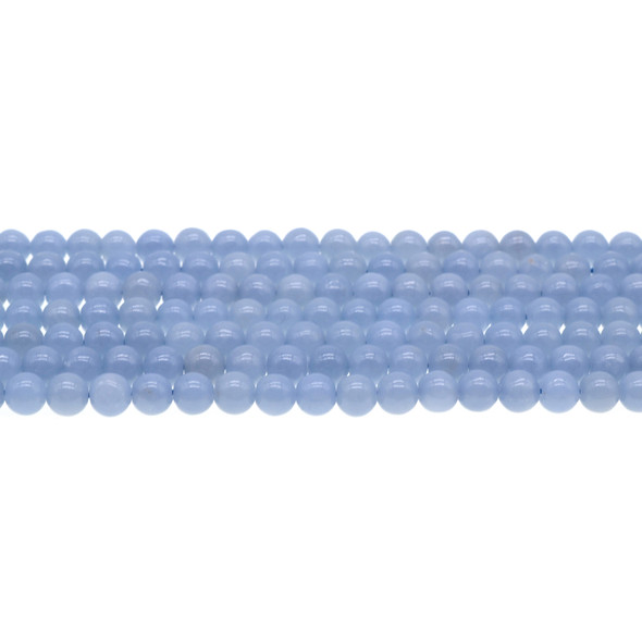 Angelite Round 6mm - Loose Beads