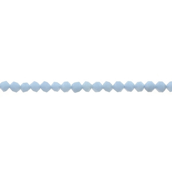 Angelite Round Large Cut 6mm - Loose Beads