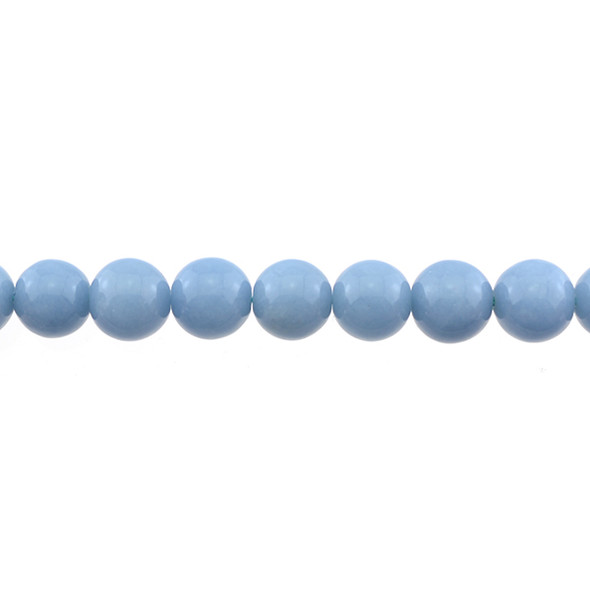 Angelite Round 10mm - Loose Beads