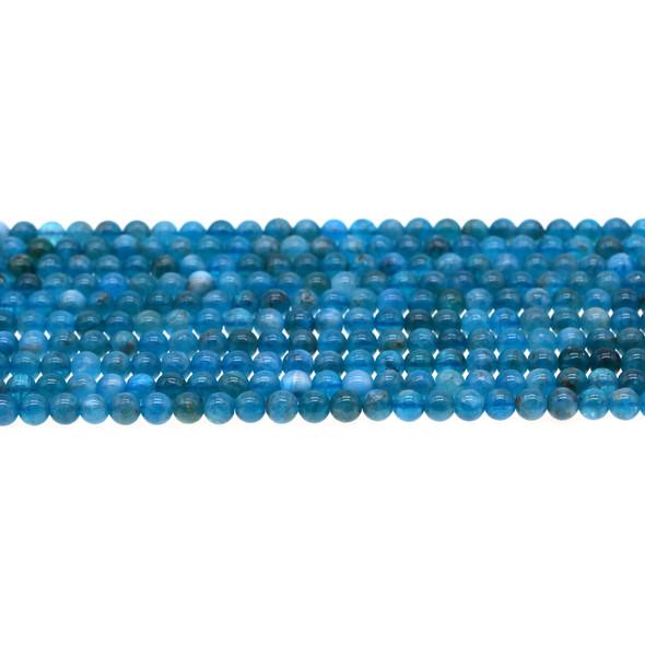 Apatite AB Round 4mm - Loose Beads