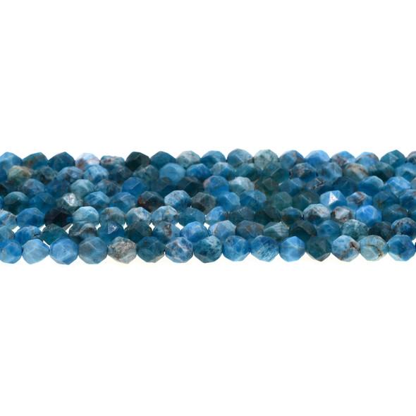 Apatite Round Large Cut 6mm - Loose Beads
