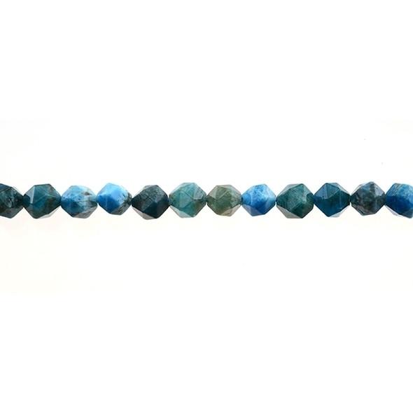 Apatite Round Large Cut 8mm - Loose Beads