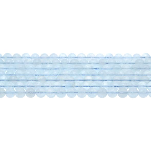 Aquamarine AA Round 6mm - Loose Beads