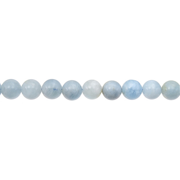 Aquamarine Round 8mm - Loose Beads