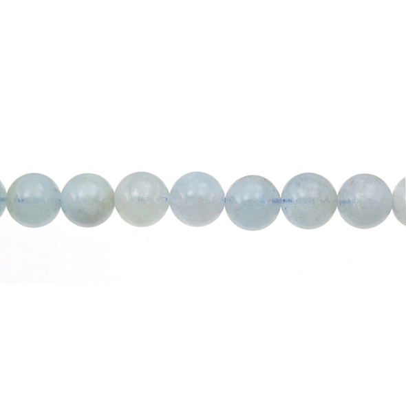 Aquamarine Round 10mm - Loose Beads