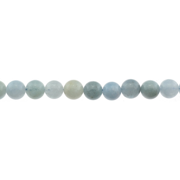 Aquamarine B Round 10mm - Loose Beads