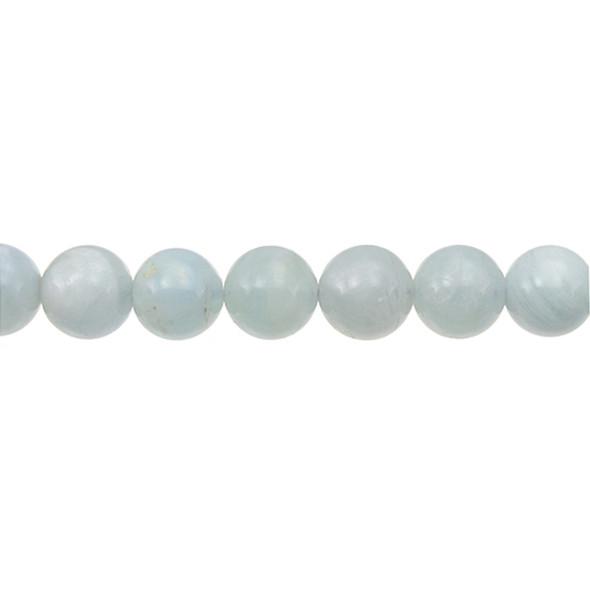 Aquamarine Round 12mm - Loose Beads
