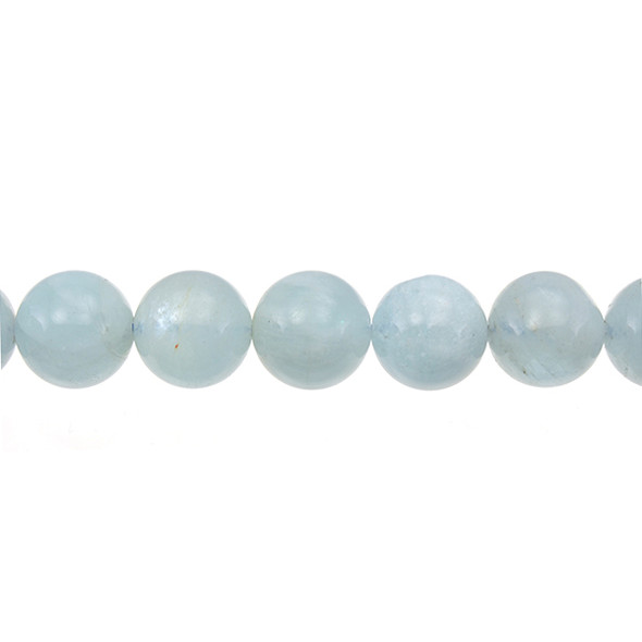 Aquamarine Round 14mm - Loose Beads