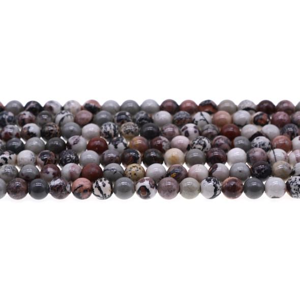 Artistic Jasper Round 6mm - Loose Beads