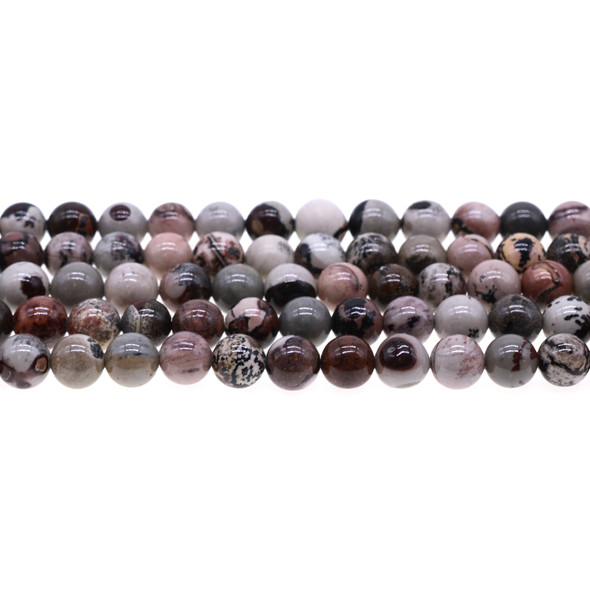 Artistic Jasper Round 8mm - Loose Beads