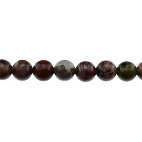 Artistic Jasper Round 12mm - Loose Beads