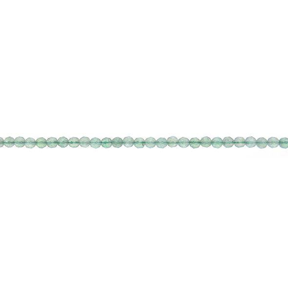 Aventurine Round Faceted 3mm - Loose Beads