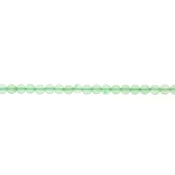 Aventurine Round 4mm - Loose Beads